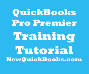 QuickBooks Desktop Pro Premier Training Tutorial